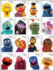 Sesame Street Stamp